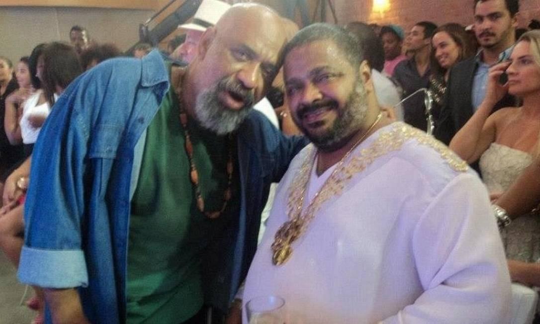 Acyr Marques e Arlindo Cruz Foto: Reprodução / Facebook