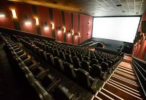 Sala de cinema Foto: Divulgação