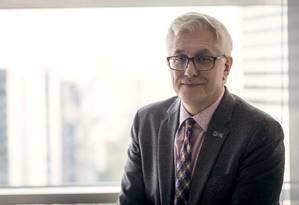 Roberto Rios, vice-presidente de produções originais da HBO na América Latina Foto: Bernardo Amendolla / Divulgação