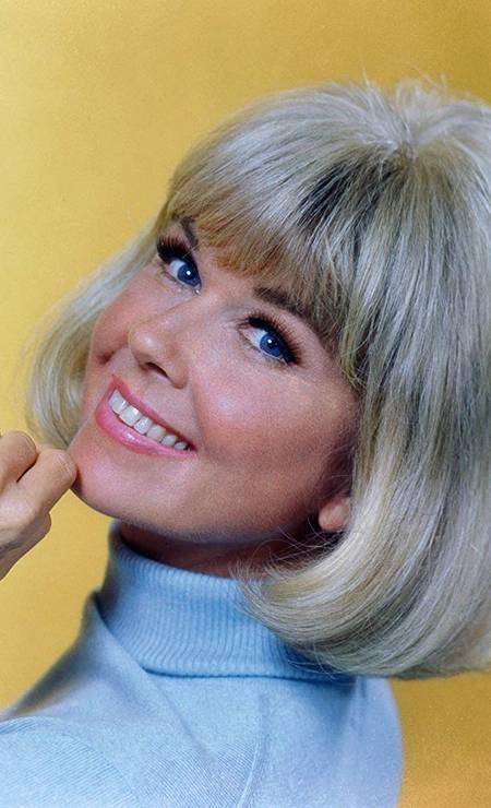 """Doris Day em 1968, ano de estreia de sua série de televisão """"The Doris Day Show"""", na CBS. Após cinco anos e mais de 20 episódios, a artista se aposentou. Foto: CBS Photo Archive"""