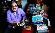 O crítico de cinema Rubens Ewald Filho: cultura enciclopédica Foto: Marcos Alves / Agência O Globo