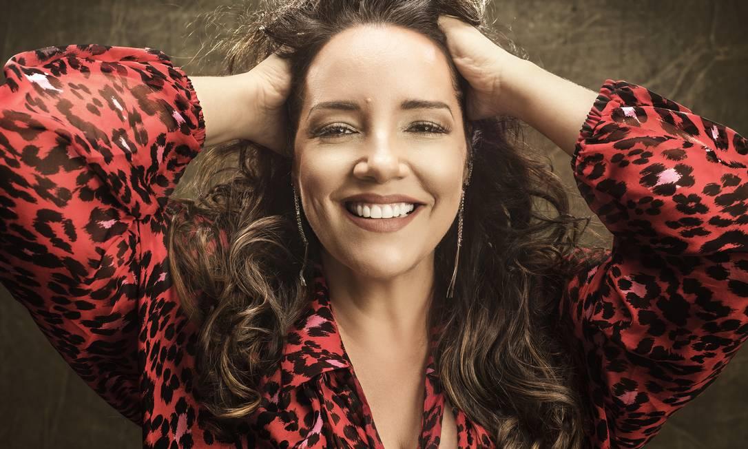 A cantora Ana Carolina Foto: Pedro Dimitrow / Divulgação