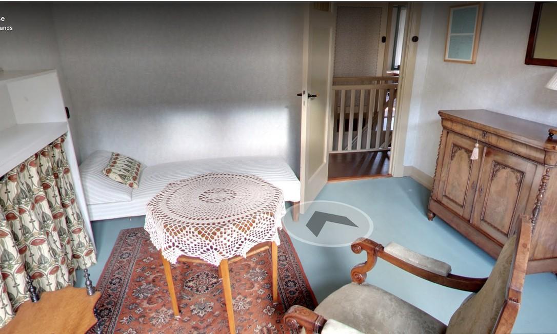 Um dos cômos da casa de Anne Frank Foto: Reprodução