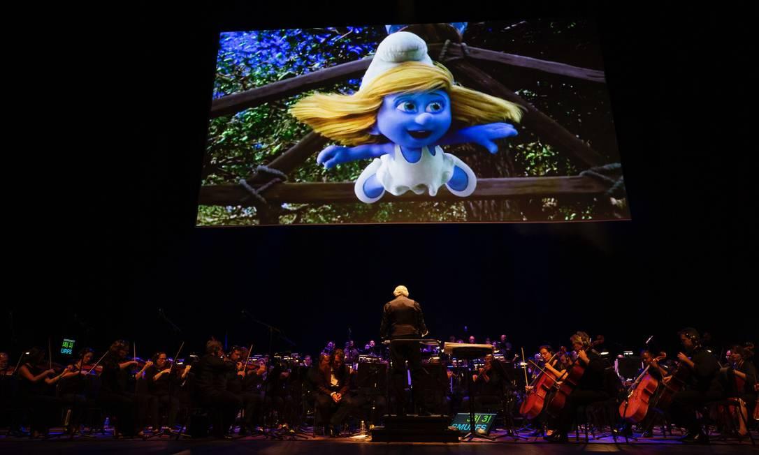 O Orquestra Petrobras Sinfônica toca trilhas de musicais infantis com o guitarrista e compositor Heitor TP Foto: Felipe Panfili / Divulgação/Felipe Panfili