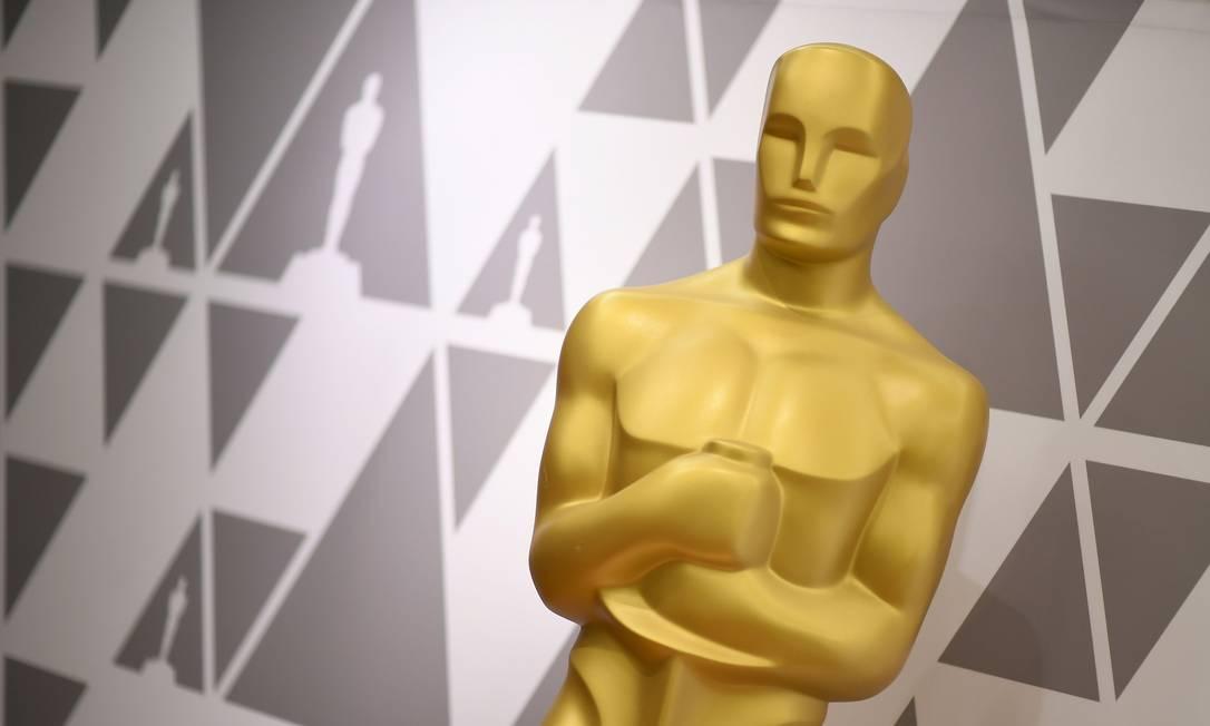 Estátua do Oscar Foto: Angela Weiss / AFP