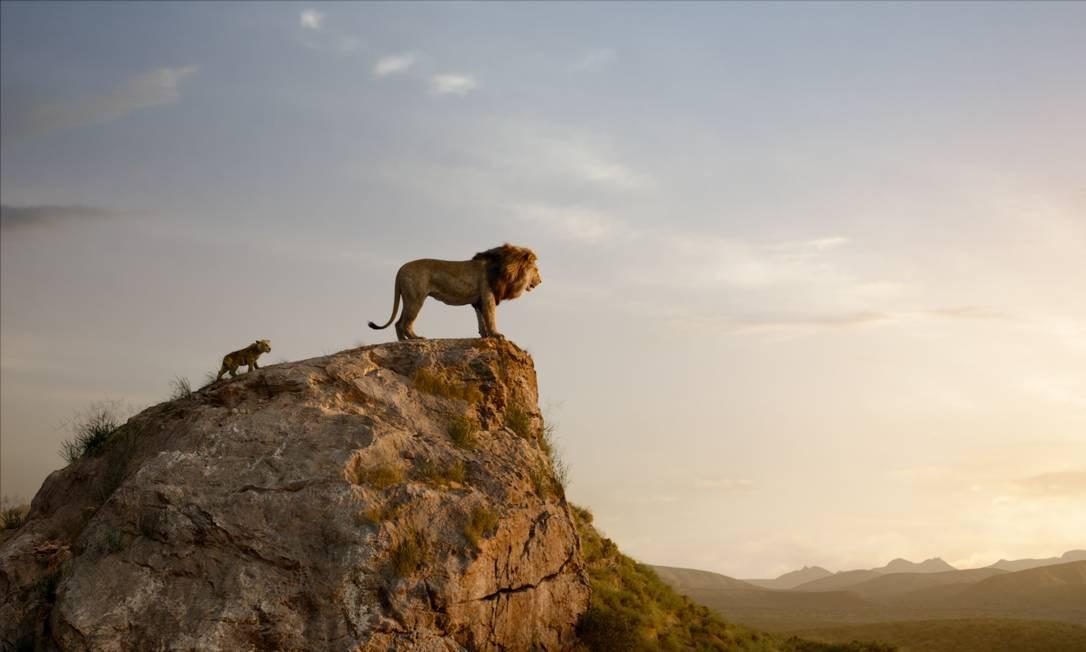 'O rei leão' Foto: Divulgação / Disney