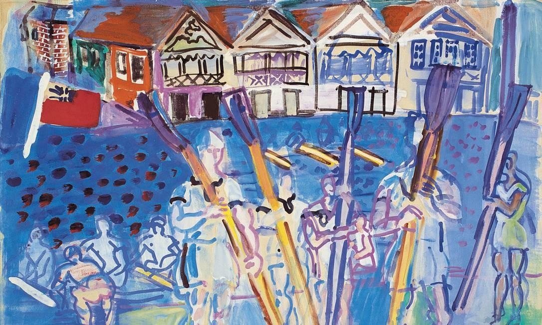 Exposição na Coleção Roberto Marinho: obra sem título de Raoul Dufy Foto: DIVULGAÇÃO/© Dufy, Raoul/ AUTVIS, Brasil, 2019. / Divulgação