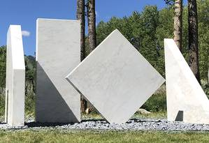 A escultura