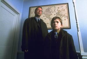 Bruce Willis e Haley Joel Osment em 'O sexto sentido' Foto: Divulgação