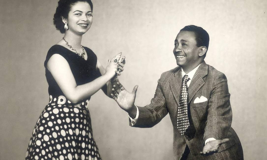 Jackson do Pandeiro e Almira Castilho, com quem se casou em 1956. Viveu com ela até 1967 Foto: