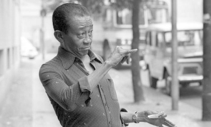 Rio de Janeiro (RJ) - 17/10/1975 - Jackson do Pandeiro (cantor, compositor e instrumentista) - Foto Eurico Dantas / Agência O Globo - Negativo: 147449 Foto: Agência O Globo