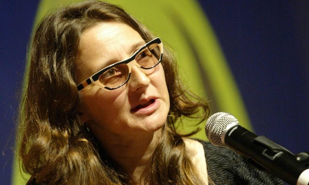 A diretora argentina Lucrecia Martel, na Flip de 2008 Foto: André Teixeira