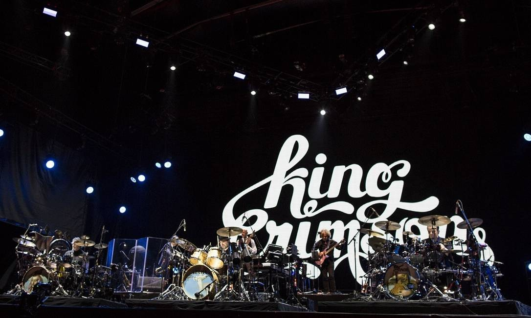 Show da banda King Crimson no Rock in Rio 2019 Foto: Guito Moreto