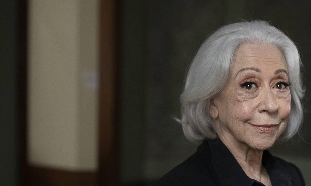 A atriz Fernanda Montenegro, que faz 90 anos nesta quarta Foto: Leo Aversa