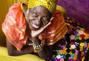 Lia de Itamaracá, a rainha da ciranda Foto: Leo Martins / Agência O Globo