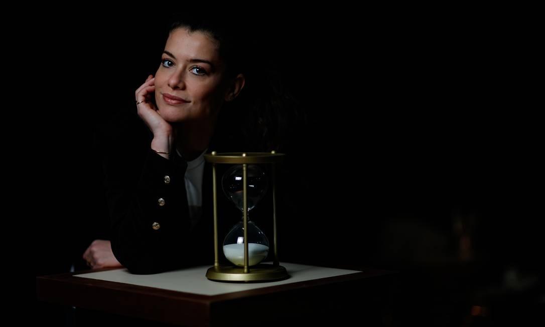 Alinne Moraes Foto: ROBERTO MOREYRA / Agência O Globo