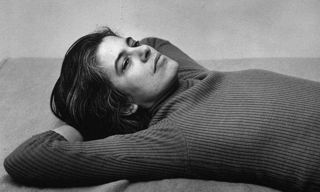 Susan Sontag em foto de 1975 Foto: Peter Hujar / Metropolitan Museum of Art