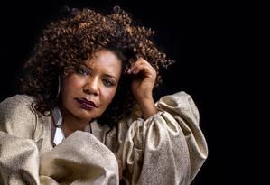 A cantora e compositora Margereth Menezes Foto: José de Holanda / Divulgação