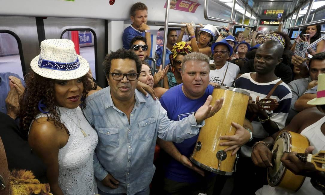 Resultado de imagem para Tradicional no Rio, Trem do Samba não circulará por falta de recursos