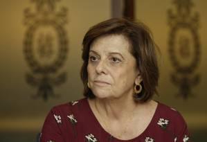 Após três anos à frente da fundação, Helena Severo deixa o cargo: perplexidade Foto: Gabriel de Paiva / Agência O Globo