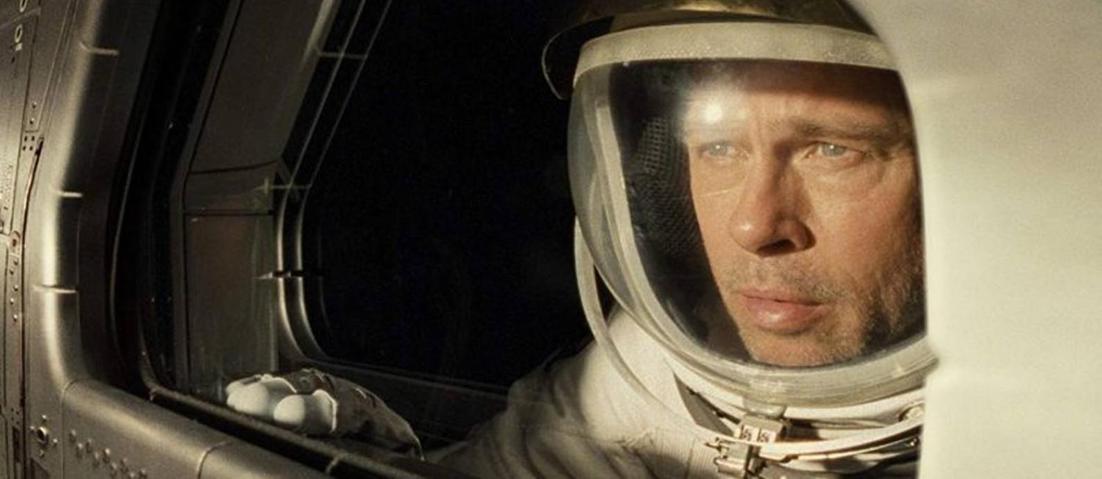 Brad Pitt em 'Ad astra' Foto: Divulgação