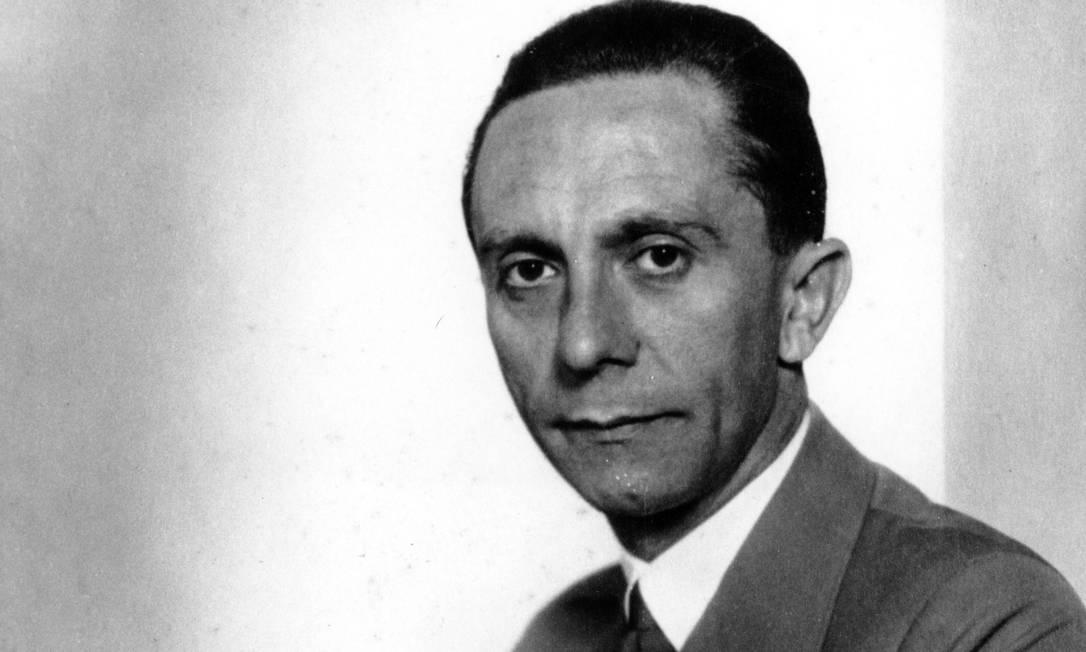 O ministro nazista Joseph Goebbels Foto: HO