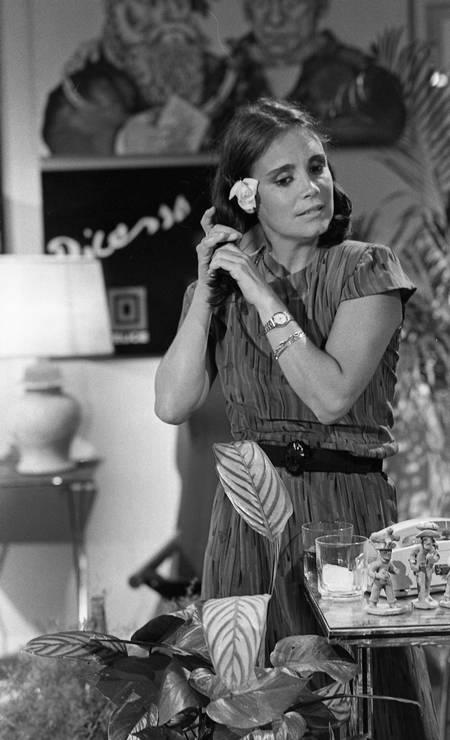 Anos mais tarde, já disposta a se livrar do rótulo, Regina encarna a protagonista de 'Malu Mulher' (1979), uma mulher separada que tenta reconstruir sua vida. Ela virou símbolo da luta feminista no Brasil Foto: Adir Mera