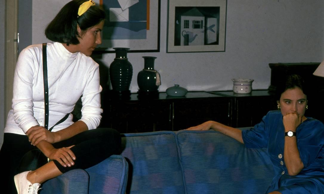 Em 1988, Regina estrelou 'Vale tudo', de Gilberto Braga, na pele de Raquel Acioli, que é enganada e humilhada pela filha, a vilã Maria de Fátima, vivida por Gloria Pires Foto: Irineu Barreto Filho