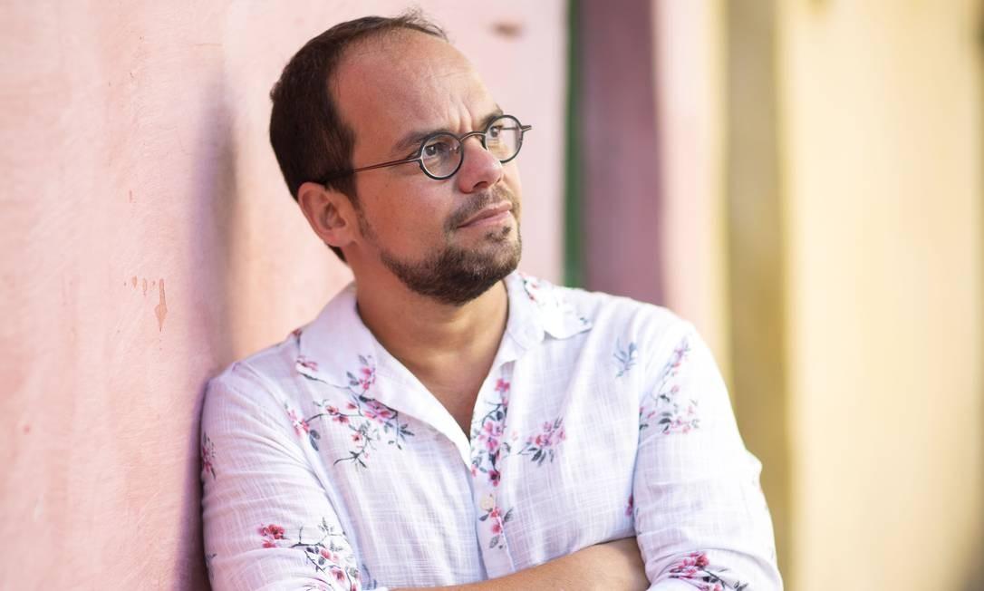 """Marcelo Moutinho, autor de """"Rua de dentro"""" Foto: Leo Aversa / Divugação"""