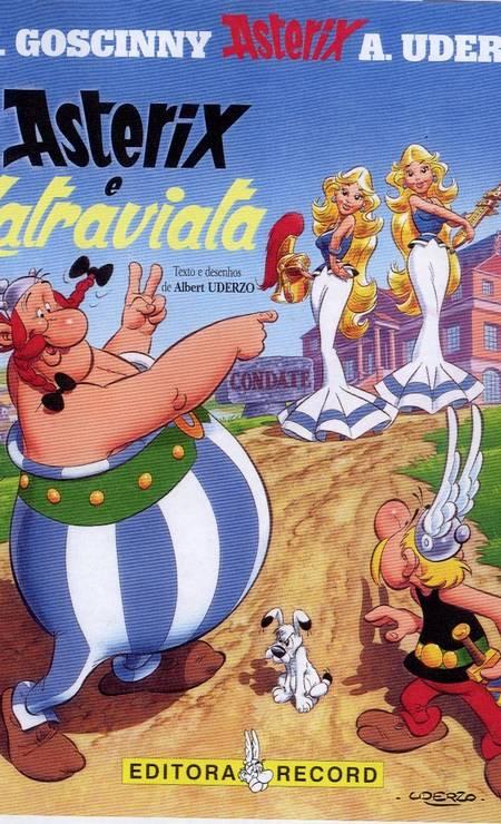 Capa do clássico quadrinho que criado pelo cartunista francês Foto: Divulgação