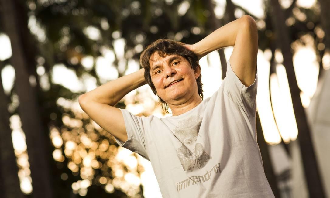 Lô Borges, autor de 'Paisagem da janela', também assinada por Fernando Brant: sucesso vai ganhar novo clipe Foto: Mônica Imbuzeiro / Agência O Globo