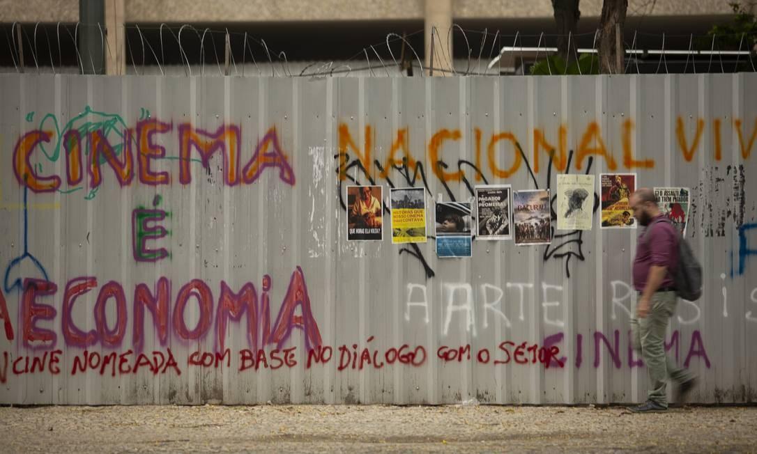 Pacote de medidas elaborado pela Ancine ainda depende de reunião do Comitê Gestor do FSA Foto: Gabriel Monteiro / Agência O Globo