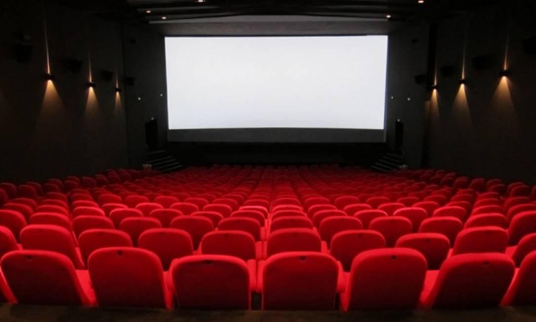 Sala de cinema: mecanismos culturais estão fechados devido à pandemia de Covid-19 Foto: Divulgação