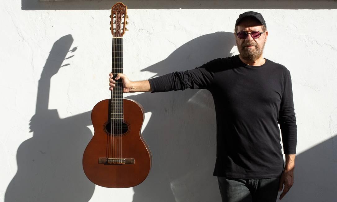 O cantor e compositor João Bosco Foto: Marcos Hermes / Divulgação