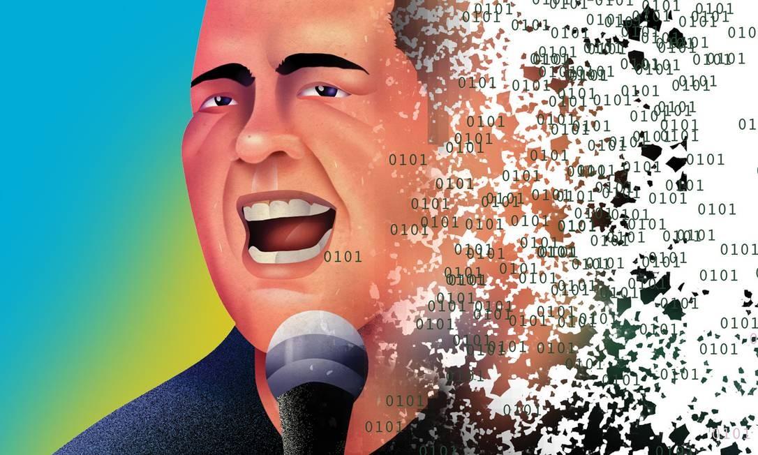 Arte produzida na quarentena: tudo que é on-line se desmancha no ar? Foto: O Globo
