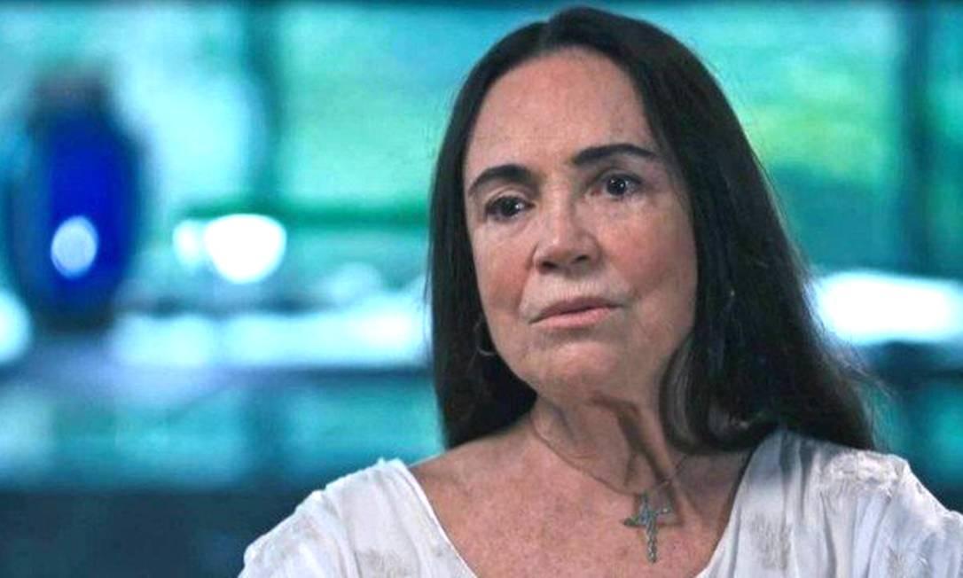 Regina Duarte: após saída da secretaria de Cultura, atriz se vê alvo de processo por apologia aos crimes da ditadura Foto: TV Globo / Reprodução