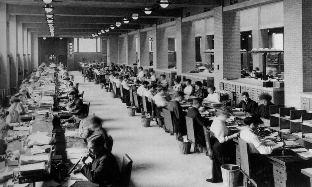 Primeiro edifício empresarial em Nova York, o Larkin Building foi projetado por Frank Lloyd Wright em 1903 Foto: Divulgação