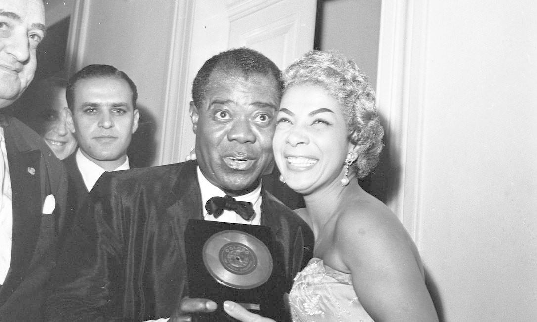 Elizeth e Louis Armstrong