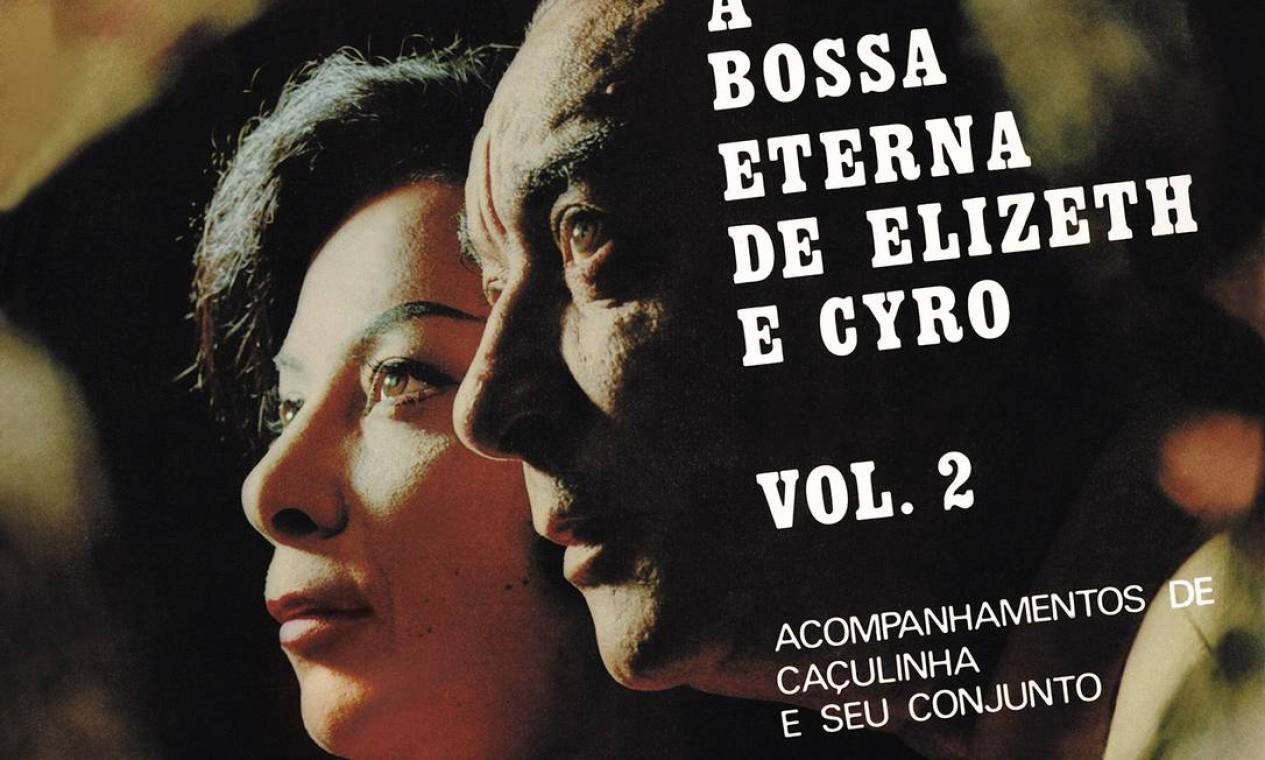 """Segundo dela com Cyro Monteiro, o LP de 1969 traz """"Sei lá , Mangueira"""" (Paulinho d a Viola/Hermínio). Foto: Divulgação"""