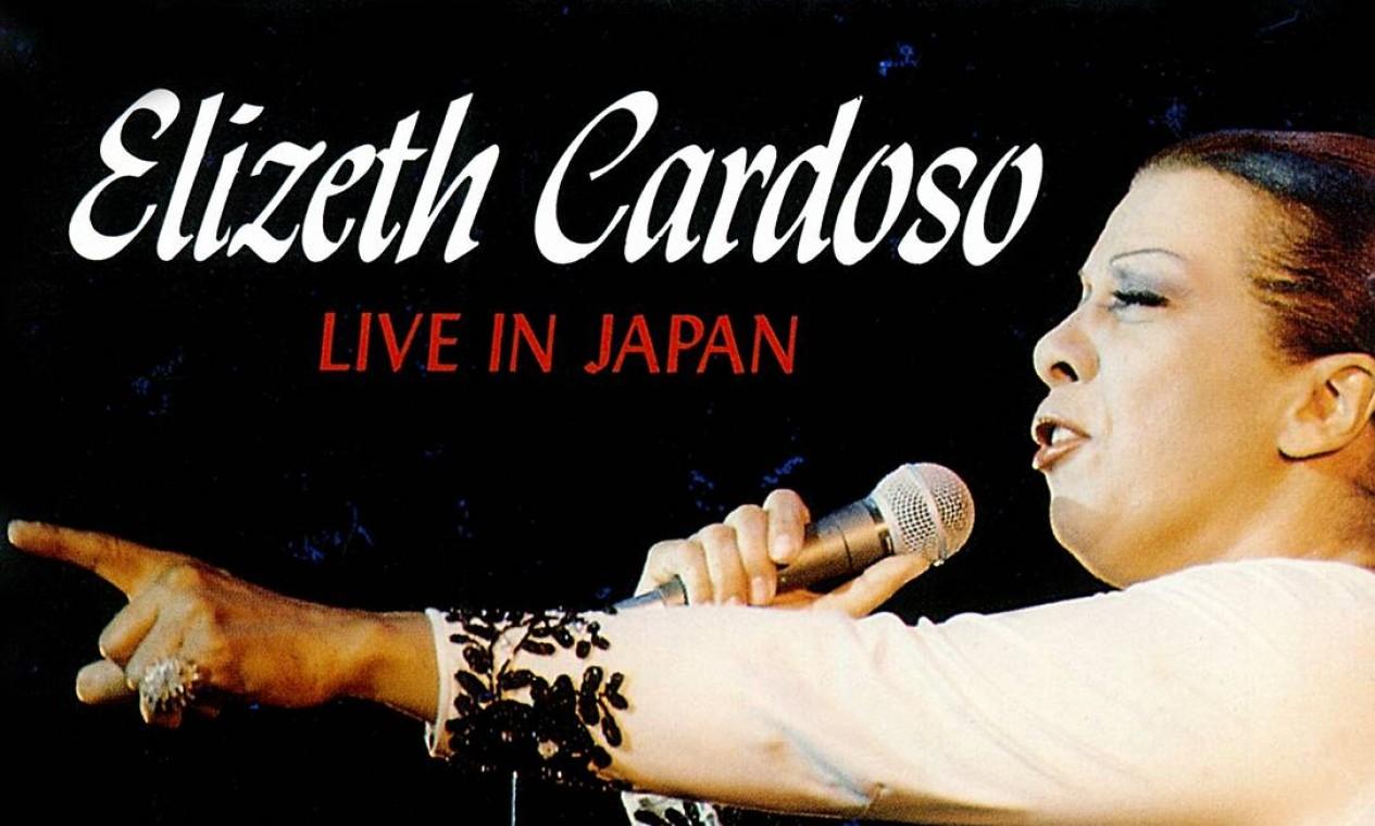 """Elizeth mostra seu pioneirismo em """"Live in Japan"""", que traz um irretocável repertório de clássicos da MPB. Foto: Divulgação"""