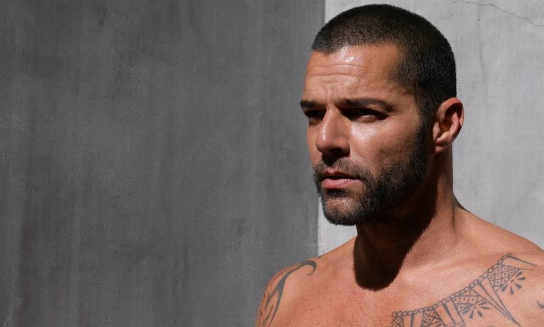 O cantor Ricky Martin Foto: Divulgação / Divulgação