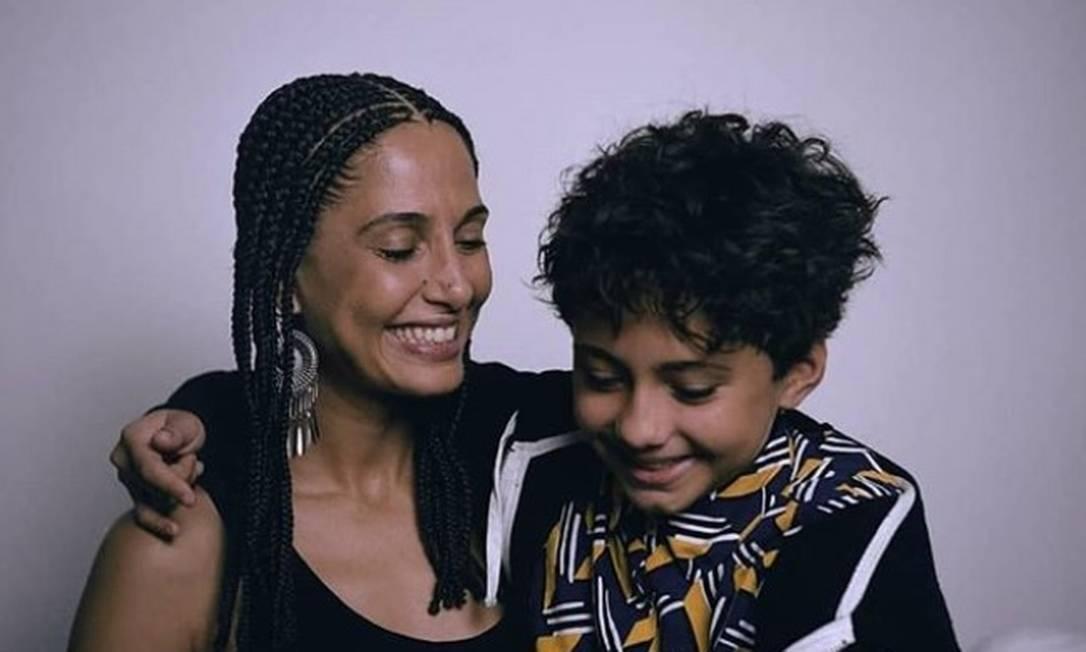 Camila Pitanga e a filha Antonia Foto: Reprodução / Instagram