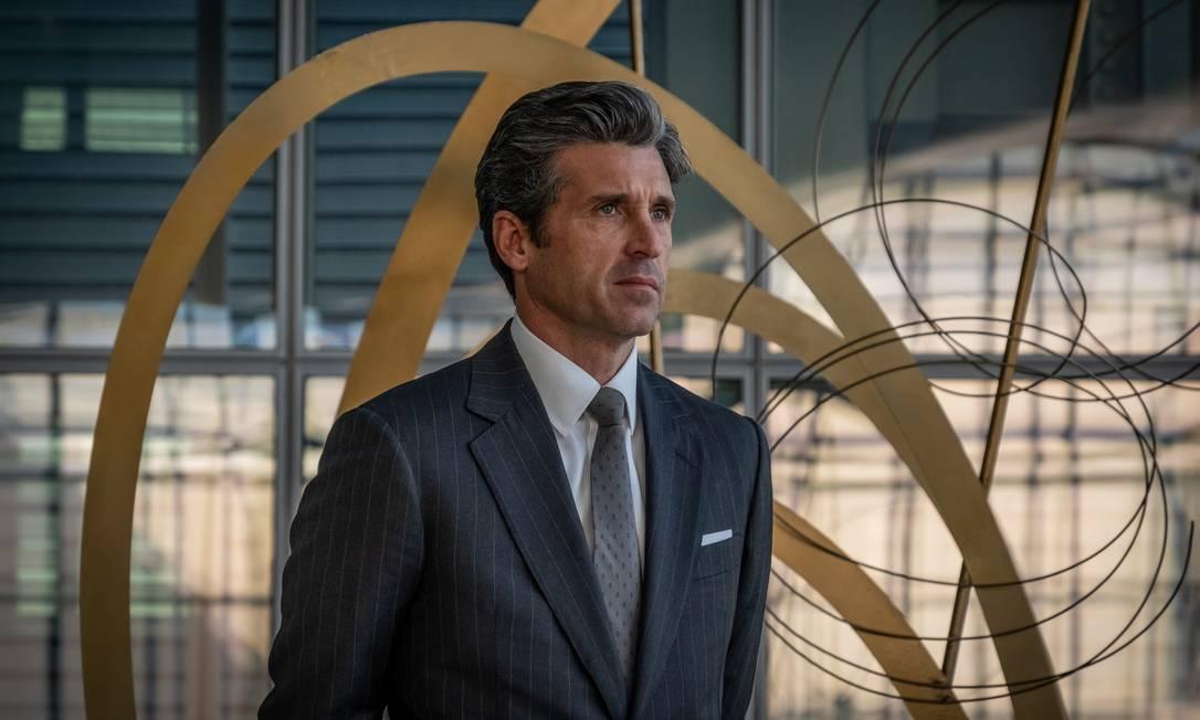 Patrick Dempsey na pele de Dominic Morgan, banqueiro ambicioso na série 'Devils', da Universal TV Foto: Divulgação