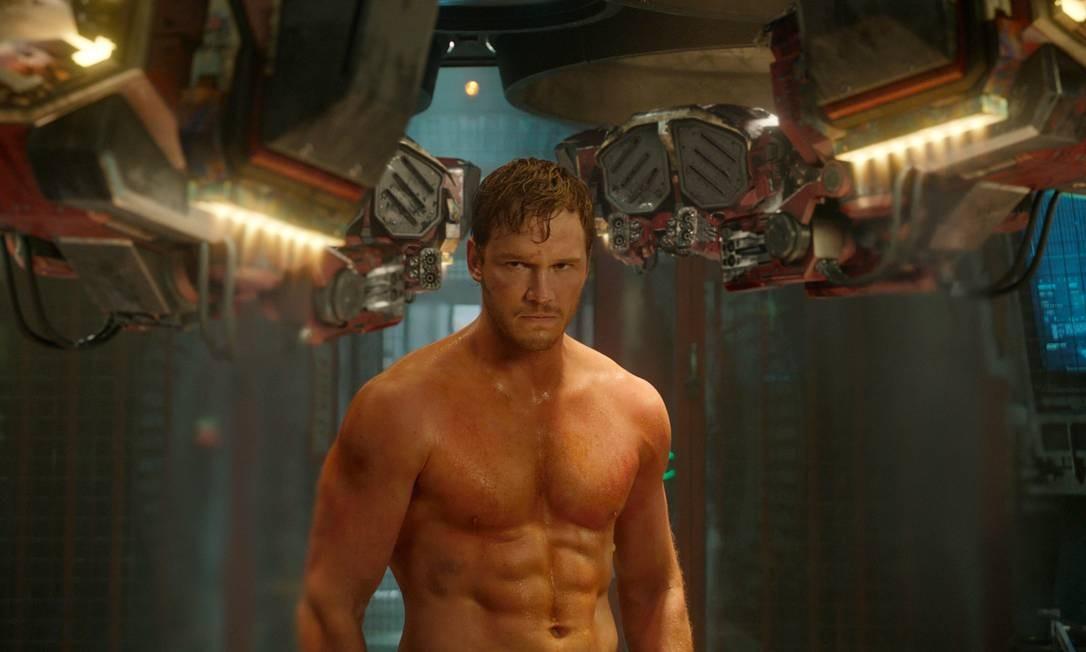 Chris Pratt em 'Guardiões da galáxia': ator virou alvo de 'cancelamento' após um post no Twitter feito pela produtora Amy Berg Foto: Divulgação