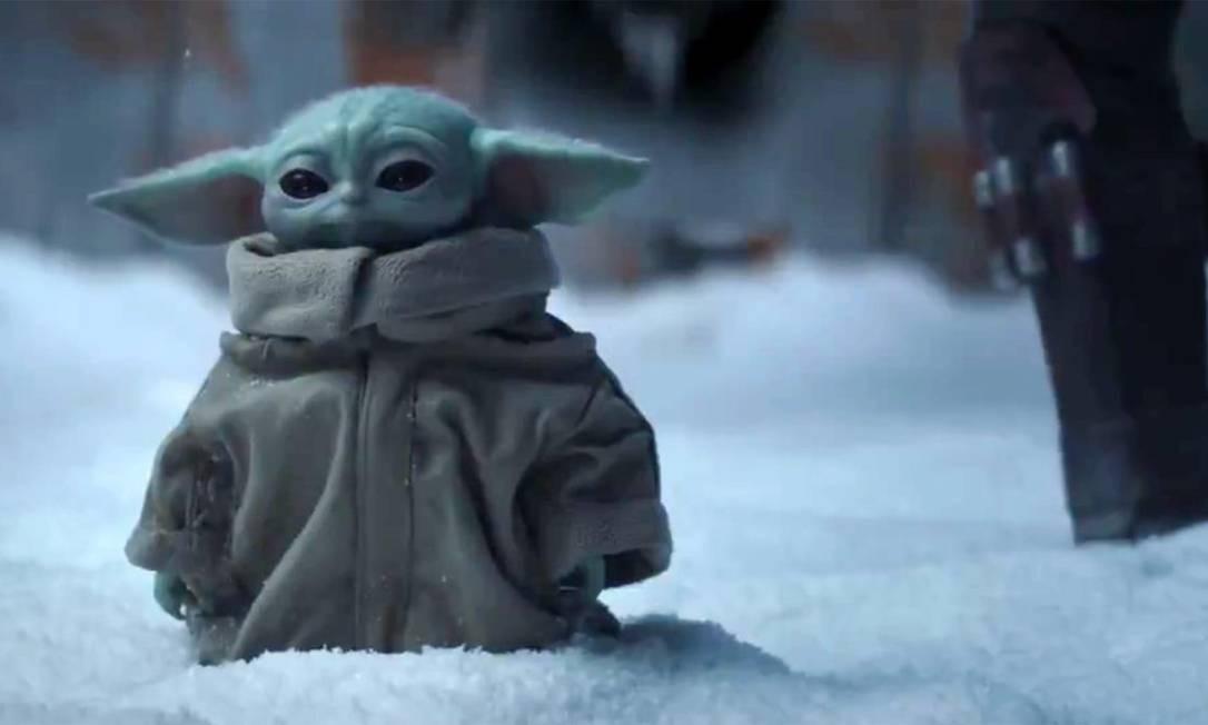 Baby Yoda em 'The Mandalorian' Foto: Divulgação