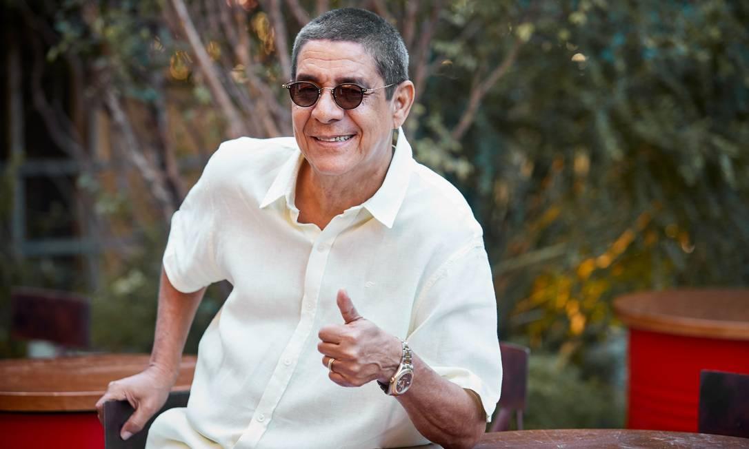Zeca Pagodinho tem alta hospital, depois de quase se curar da Covid-19. Foto: Divulgação