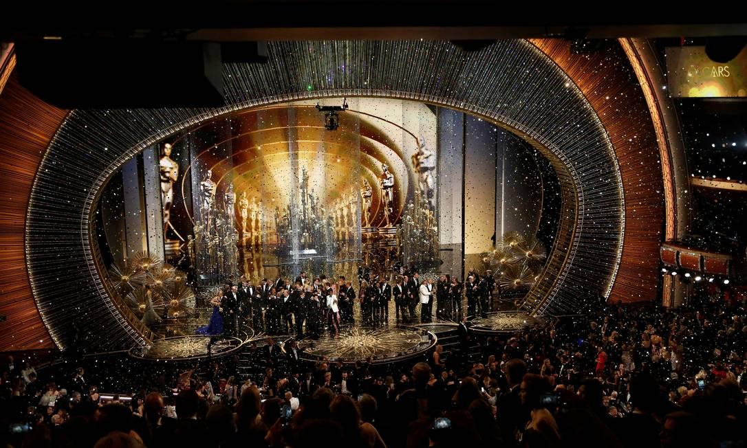 Nada de Zoom: tendência é de que haja público na festa do Oscar 2021, mas ainda não se sabe sob quais condições Foto: Mario Anzuoni / Reuters