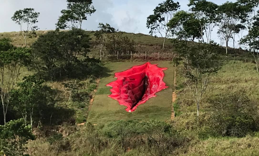 'Diva': obra instalada na Usina de Arte gerou ebulição nas redes sociais e debate sobre os mais variados temas Foto: Divulgação