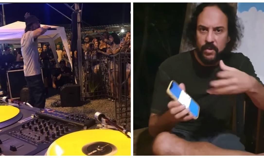 Vídeo de Gabriel, O Pensador em show em Santa Catarina viralizou nas redes. O cantor se defendeu das críticas via Instagram Foto: Reprodução