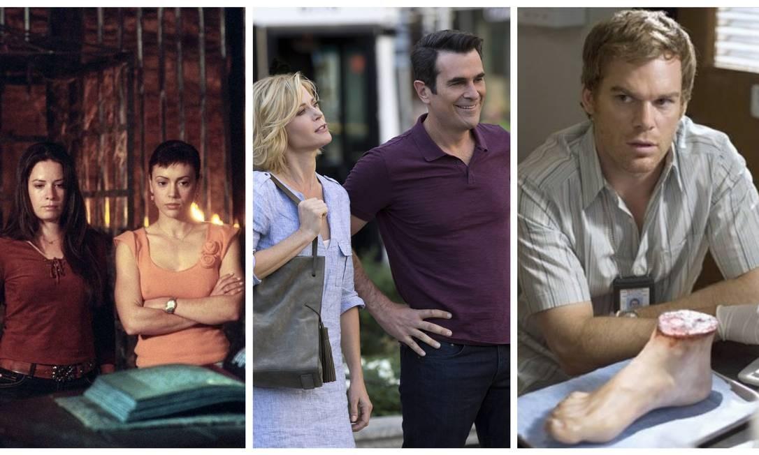 'Charmed', 'Modern family' e 'Dexter': todas as temporadas disponíveis no Globoplay Foto: Divulgação